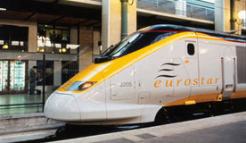 Trains with Eurostar