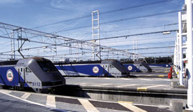 Trains with Eurotunnel